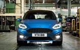2017 Ford Fiesta ST headlights