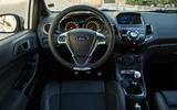 Ford Fiesta ST200 dashboard