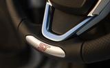 Ford Fiesta ST200 steering wheel
