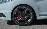 Gunmetal grey Ford Fiesta ST200 alloys