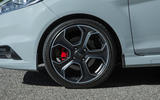 Gunmetal grey Ford Fiesta ST200 alloys