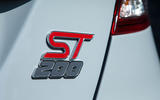 Ford Fiesta ST200 rear badge