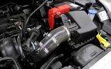 Ford Fiesta Zetec S Mountune engine bay