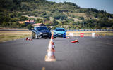 Ford Focus RS Option Pack slalom