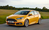 Ford Focus ST front profile