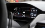 Ford GT digital instrument cluster