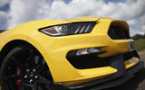 Ford Shelby Mustang GT350R front diffuser