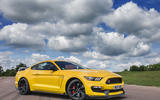 Ford Shelby Mustang GT350R front quarter