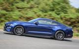 Ford Mustang four-cylinder 2018 UK first drive review panning