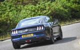 ford mustang 4cyl 097 rear cornering