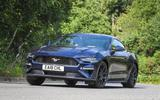 Ford Mustang four-cylinder 2018 UK first drive review front