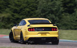 Ford Shelby Mustang GT350R rear drifiting