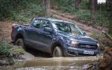 Ford Ranger XL off-roading
