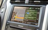 Ford Mondeo Vignale sat nav