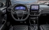 Ford Puma ST-Line X Vignale dash