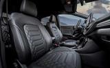 Ford Puma ST-Line X Vignale seats