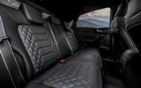 Ford Puma ST-Line X Vignale rear seats