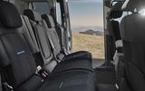 Ford Tourneo Connect Active rear seats