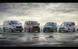 Ford Transit/Tourneo Active range