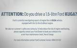 Ford Kuga recall