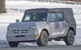 Ford Bronco 2020 spy photos - front
