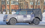 Ford Bronco 2020 spy photos - side