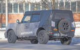 Ford Bronco 2020 spy photos - rear three quarters