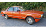 1980 Ford Cortina side