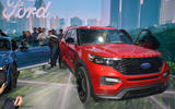 Ford Explorer at Ford booth, Detroit motor show 2019