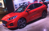 Ford Kuga 2019 official reveal - red
