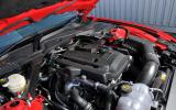 Ford Mustang 2.3 Ecoboost Convertible engine