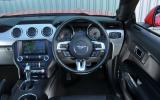 Ford Mustang Convertible interior
