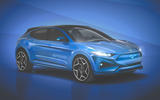 Ford Mustang Mach-E artist impression