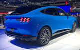 Ford Mustang Mach-E at LA motor show - rear