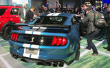 Ford Mustang Shelby GT500 - on stand, Detroit - rear