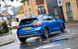 2020 Ford Focus Active X Vignale MHEV - cornering rear