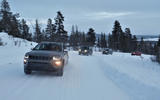 Jeep PHEVs winter testing