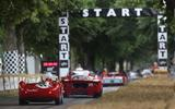 Ferraris at Goodwood