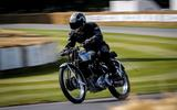 Classic motorcycles at Goodwood