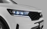 2020 Kia Sorento unveiling - front grille
