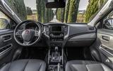 Fiat Fullback dashboard