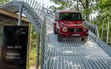 Mercedes G-Class Experience - down ramp