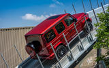 Mercedes G-Class Experience - incline