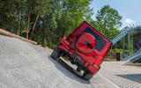 Mercedes G-Class Experience - angle