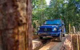 Mercedes G-Class Experience - wood
