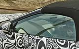 Jaguar F-Type 2020 spyshot cabin