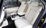 Genesis G90 rear seats