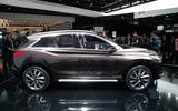 2018 Infiniti QX50 sighting shows Detroit concept influence