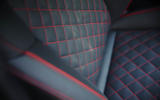 Genesis G70 quilted leather seats