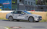 Genesis G80 spy images - on the road
